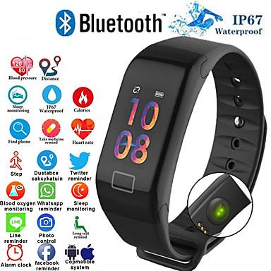 f1 умный браслет монитор сердечного ритма артериальное давление умный браслет здоровье фитнес-трекер умный браслет для android ios