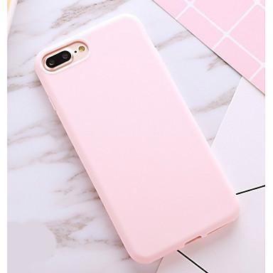 hesapli iPhone Kılıfları-Pouzdro Uyumluluk Apple iPhone X / iPhone 8 Plus / iPhone 8 Şoka Dayanıklı / Toz Geçirmez Arka Kapak Solid Yumuşak TPU