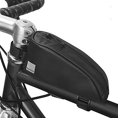 billige Sykkelvesker-0.3 L Vesker til sykkelramme Vanntett Anvendelig Holdbar Sykkelveske 600D polyester Vanntett materiale Sykkelveske Sykkelveske Sykling Sykkel