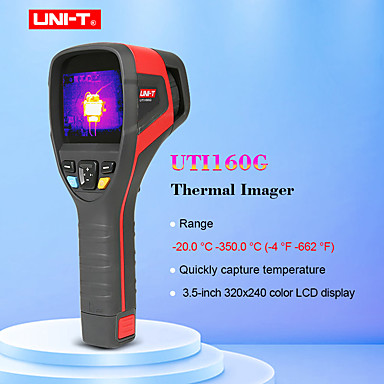 voordelige Test-, meet- & inspectieapparatuur-uni-t uti160g thermische imager -20c tot 350c industriële inspectie handmatige focus thermische beeldvorming thermometer usb communicatie