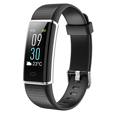 baratos Relógios Homem-Homens Relógio Esportivo Digital Estilo Moderno Esportivo Silicone 30 m Impermeável Bluetooth Smart Digital Ao ar Livre Fashion - Preto Verde Roxo