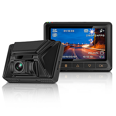 voordelige Automatisch Electronica-Junsun s390 dashcam 4k 2880 * 2160p ultra hd nachtzicht sony imx335 ingebouwd gps wifi auto dvr camera dashcam video recorder