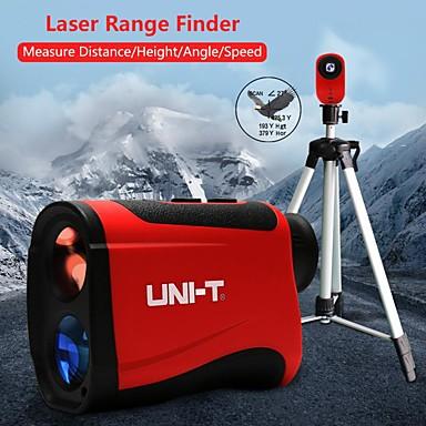 Uni-t lm1000 lazer telemetre telemetre teleskop 1000 m lazer mesafe ölçer açı ölçer ölçüm araçları