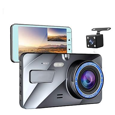 billige Bil-DVR-4 kjøretøy 1080p bil dashbord dvr kamera videoopptaker g-sensor dash cam