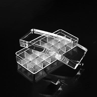 お買い得  ネイルスタンピング-2 pcs スタンパー&スクレーパー テンプレート ホワイトシリーズ 安全用具 / 取り外し可 / 創造的 ネイルアート マニキュアペディキュア スタイリッシュ / ロマンチック パーティー / 日常