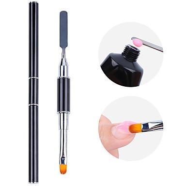 voordelige Nagelgereedschap & Apparatuur-1 set dubbele dual-nail phototherapie toning nemen zelfklevend reliëf bracht een grote multifunctionele nail art-pen