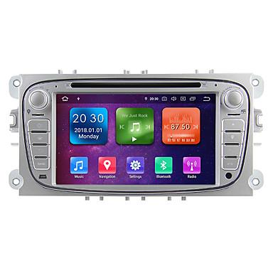 voordelige Automatisch Electronica-winmark wg7009s android 9.0 in-dash auto dvd-speler multimediasysteem 7 inch 2 din octa core 4g 32g wifi ex-3g schar voor ford focus 2009-2010 wg7009 zilver