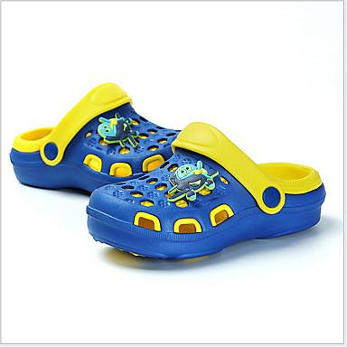 baratos Sapatos de Criança-Para Meninas PVC Sandálias Little Kids (4-7 anos) Conforto Preto / Azul / Rosa claro Verão