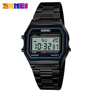 baratos Relógios Homem-skmei 1123 homens relógios esportivos relógio digital impermeável levou relógios eletrônicos