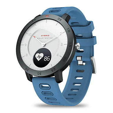 cheap Smartwatches-Zeblaze HYBRID Heart Rate Blood Pressure Monitor Real-time Weather Temperature Goal Reminders Dual Modes Mechanical Hands Smart Watch