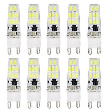 economico Lampadine-10 pezzi 3 W Luci LED Bi-pin 300 lm G9 T 16 Perline LED SMD 5733 Nuovo design Bianco caldo Bianco 220-240 V