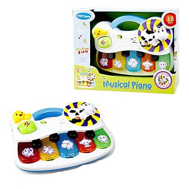 Недорогие Игрушки с подсветкой-LED освещение Музыка Слон Овечья шерсть Простой Мерцание Животные Ребёнок до года Все Игрушки Подарок