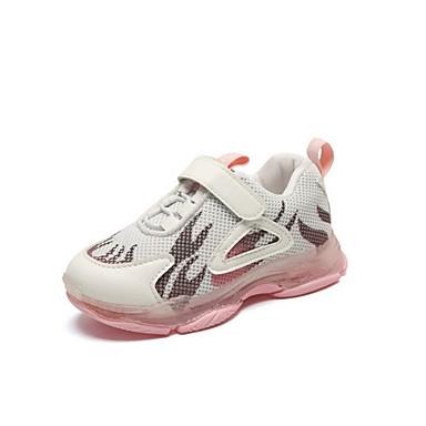 baratos Sapatos de Criança-Para Meninos / Para Meninas Com Transparência Tênis Little Kids (4-7 anos) Conforto Preto / Rosa claro Verão