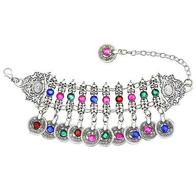 abordables Bracelet-Bracelet à Perles Femme Bandoulière Phase de lune Tendance Bracelet Bijoux Arc-en-ciel pour Quotidien