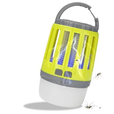 billige Lommelykter & campinglykter-Lanterner & Telt Lamper 180 lm LED LED emittere 3 lys tilstand med USB-kabel Vanntett Bærbar Insekt afvisende Camping / Vandring / Grotte Udforskning Grønn Lyskilde Farge Oransje Grønn Mørk Svart