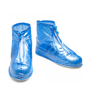 abordables Accessoires pour Chaussures-1 paire Unisexe Couvre-chaussures Standard Couleur Pleine Des sports Style Simple PVC EU40-EU46