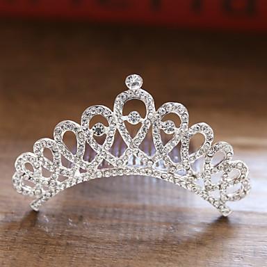 voordelige Dames Sieraden-Dames Dames Bruids Prinses Legering kleine diamant Haarkammen Haarsieraden Haar charmes Bruiloft