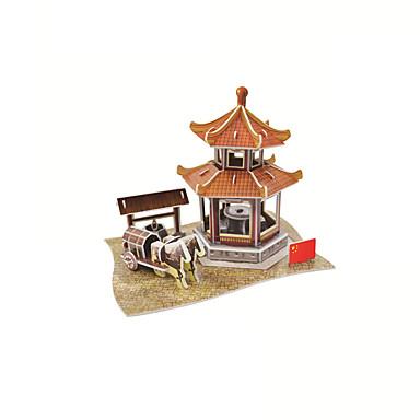 voordelige 3D-puzzels-3D-puzzels Architectuur Chinese architectuur Landschap 3D Cartoon 1 pcs Kinderen Allemaal Speeltjes Geschenk