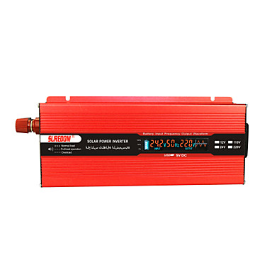 povoljno Alati i oprema-suredom inverter za napajanje automobila dc12v / 24v do ac110v / 220v izmijeniti sinusni val za pretvarač visoke frekvencije i kapaciteta za kuću / automobil