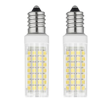 abordables Ampoules électriques-2pcs 6 W Ampoules Maïs LED 750 lm E14 T 88 Perles LED SMD 2835 Blanc Chaud Blanc Froid 85-265 V