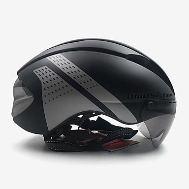 abordables Casques de Cyclisme-WILDSIDE Adulte Natation 11 Aération ESP+PC Des sports Activités Extérieures Vélo Cyclisme Motocross - Rouge et Blanc Noir / Blanc Noir / Rouge Unisexe