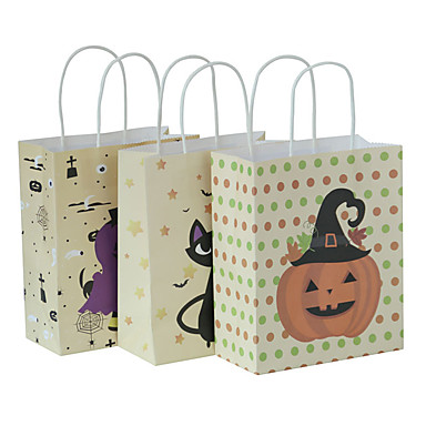 abordables Support de Cadeaux pour Invités-Irrégulier Papier durci Titulaire de Faveur avec Combinaison Sacoches à cadeaux - 3 Pièces