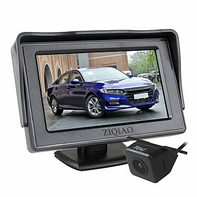voordelige Automatisch Electronica-ziqiao 4,3 inch auto monitor tft lcd-scherm camera's achteruitrijcamera parkeersysteem voor auto achteruitrijcamera monitoren kit