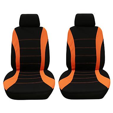 voordelige Auto-interieur accessoires-4 stks / set autostoel cover beschermer comfortabele stofdichte hoofdsteun stoelhoezen