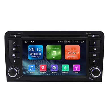 voordelige Automatisch Electronica-winmark wn7047 7 inch 2 din quada core 2g 16g android 9.0 in-dash auto dvd-speler auto multimedia speler auto gps navigator wifi ex-3g dab / gps / ingebouwde bluetooth / rds voor audi a3 2003-2011