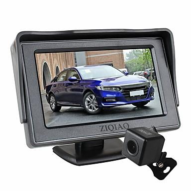 voordelige Automatisch Electronica-ziqiao 4,3 inch opvouwbare auto monitor tft lcd-scherm camera's achteruitrijcamera parkeersysteem voor auto achteruitrijcamera's kit