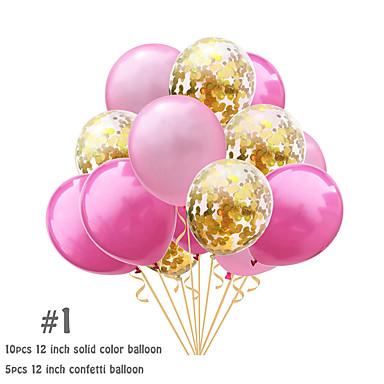 voordelige Feestbenodigdheden-ballonbundel emulsie 15 bruiloft