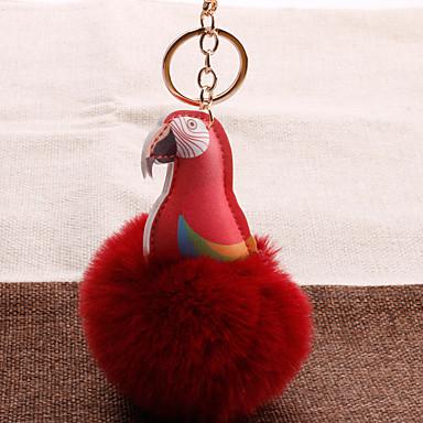 voordelige Dames Sieraden-Sleutelhanger Parrot Koreaans Zoet Modieus Modieuze ringen Sieraden Zwart / Bruin / Wijn Voor Lahja Dagelijks