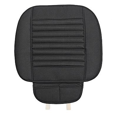 voordelige Auto-interieur accessoires-auto ademend pu lederen zitkussen universele auto voorstoel stoelhoes mat pad