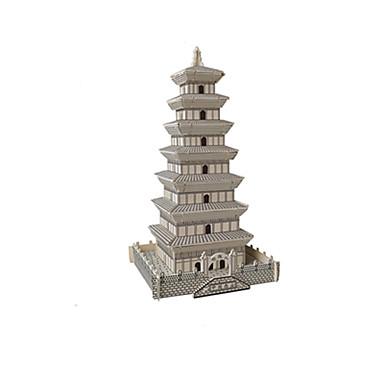voordelige 3D-puzzels-3D-puzzels Legpuzzel Metalen puzzels Toren Beroemd gebouw Chinese architectuur verenigbaar Legoing Creatief DHZ Klassiek & Tijdloos Chic & Modern Speciaal Jongens Meisjes Speeltjes Geschenk