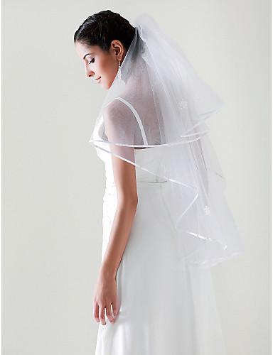 2 capas codo boda velo de novia