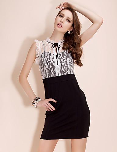 TS Lace Top Sleeveless Dress