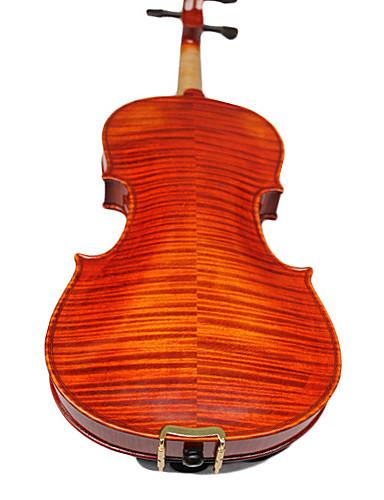 billige Strengeinstrumenter-yinyi - (Hyo-02) 4/4 Master-grad alps granlokk & flamme lønn tilbake fiolin antrekk