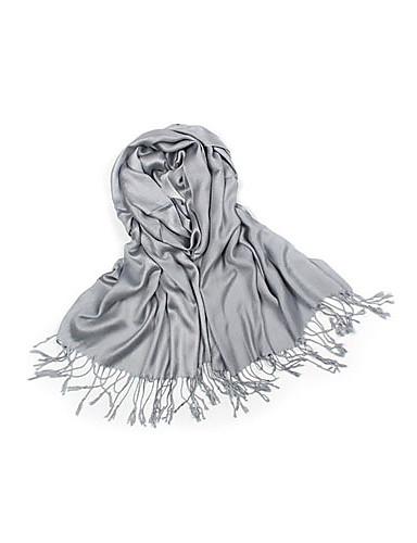 algodão elegante com borlas desgaste diário lenço / envoltório