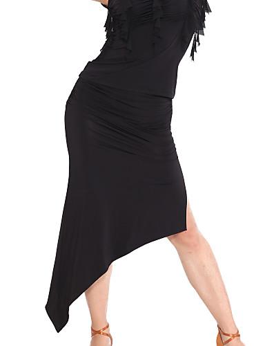 Ballroom Dancewear Viscose Latin Dance Skirt For Ladies