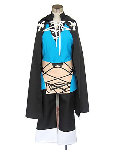 billige Cosplay og kostumer-Inspireret af Uden for grænsen Konoe video Spil Cosplay Kostumer Cosplay Kostumer / Kimono Patchwork Langærmet 背心 Top Bukser Kostumer