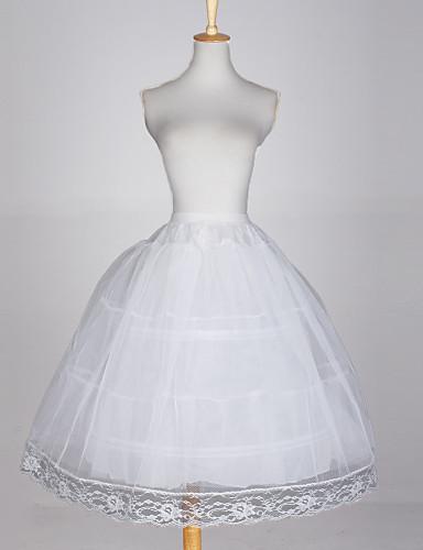 Düğün Özel Anlar Parti / Gece Slipler Pamuklu Tafta Tül Parlak Balo Elbisesi Alt Giyimi ile Beyaz Fiyonk