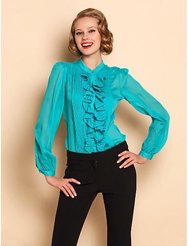 TS Ruffle Voorzijde blouse shirt