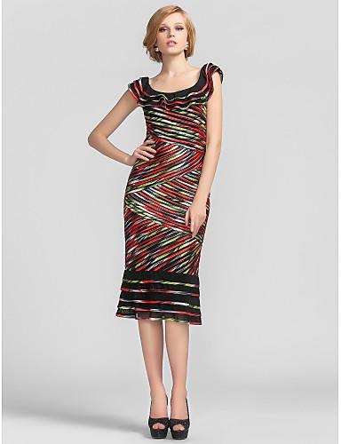 CARMEN - Kleid für Abendveranstaltung aus Satin