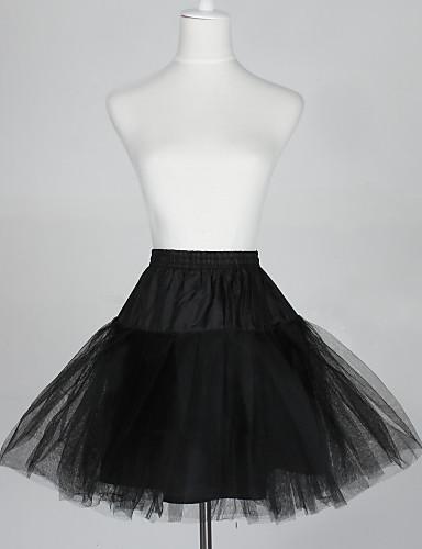 povoljno Podsuknje-Vjenčanje / Special Occasion Podsuknje Taft / Til Short-Length Line-Slip / Ball haljina proklizavanja s