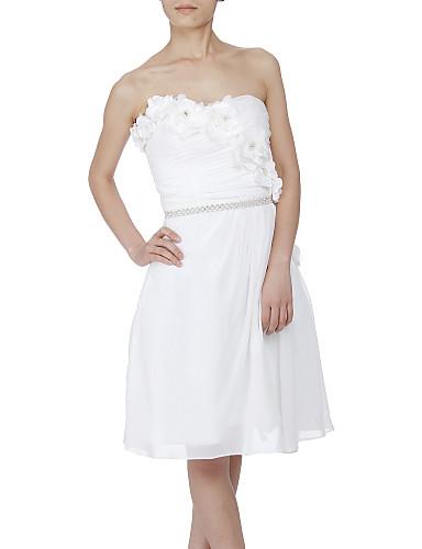 Satin Wedding Party / Evening Sash With Rhinestone Pearls Women's Sashes