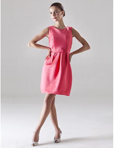 eba77e7829c3 CHULA VISTA - kjole til bryllupsfest eller brudepige i satin 158817 ...