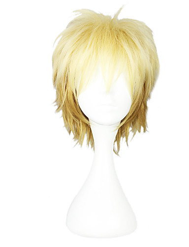 voordelige Cosplay Pruiken-Noragami Cosplay Cosplaypruiken Dames 12 inch(es) Hittebestendige vezel Blond Anime