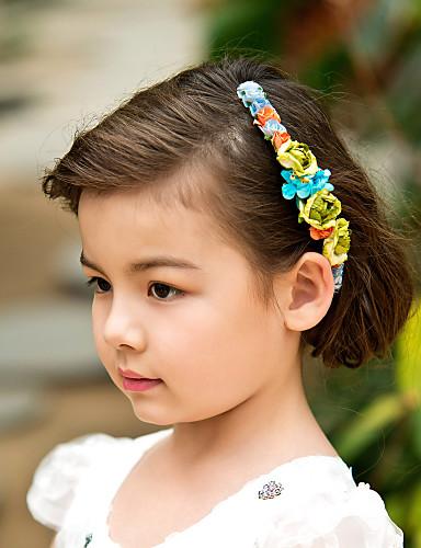 billige Hodebånd-våren bukett krans / headpiece for blomst jenter
