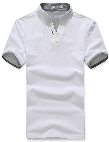 Men's Cotton Polo - Solid