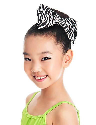Danse tilbehør Hovedstykke Børne Træning Satin Sløjfe(r)